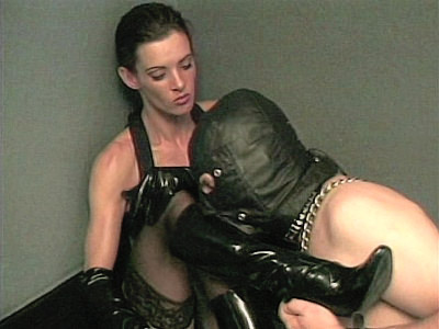 Sexy Cleopatra has a ferocious appetite for hot foot worshipers She gets really turned on by watching guys go down on their knees to worship her sexy legs and feet Watch this dominant mistress as she gets every inch of her boots licked by a horny foot servant