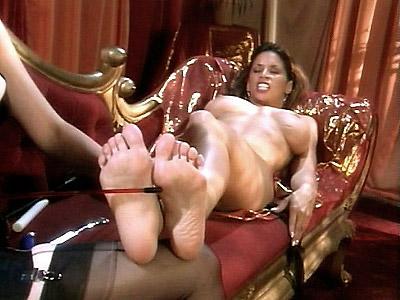 Bare Feet Lesbian Loving